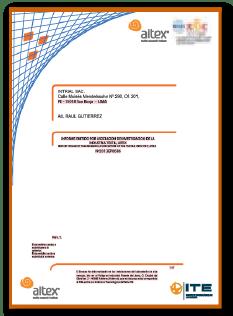 Certificado 9 cal/cm2 HRC2