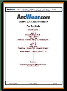 Certificado 40,4 cal/cm2 HRC4